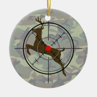 Het Ornament van Kerstmis van de Camouflage van de