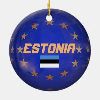 Het Ornament van Kerstmis van de Douane van de EU