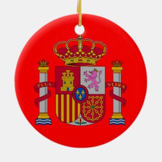 Het Ornament van Kerstmis van de Douane van Spain*
