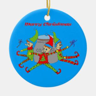 Het Ornament van Kerstmis van de Elf van het
