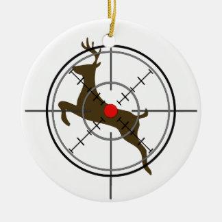 Het Ornament van Kerstmis van de Jacht van herten