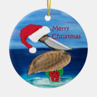 Het ornament van Kerstmis van de Pelikaan van de