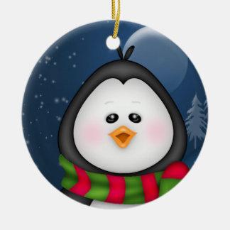 Het Ornament van Kerstmis van de pinguïn