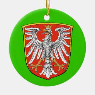 Het Ornament van Kerstmis van Frankfurt*