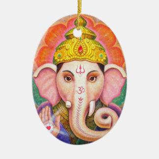 Het Ornament van Kerstmis van Ganesha van de Kunst