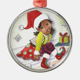 Het ornament van Kerstmis van het Elf van het