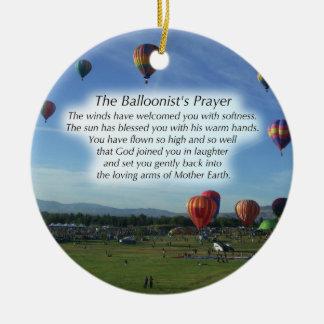 Het ornament van Kerstmis van het Gebed van de
