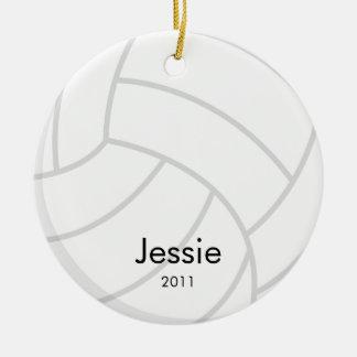 Het Ornament van Kerstmis van het volleyball