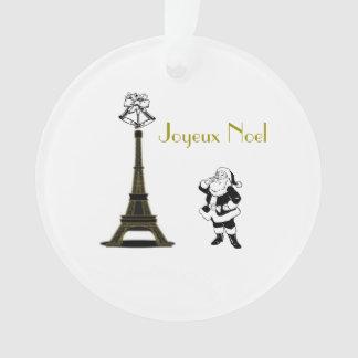 Het Ornament van Kerstmis van Parijs van de Toren
