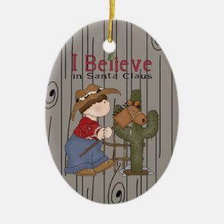Het Ornament van Lil Cowpoke van Kerstmis van het