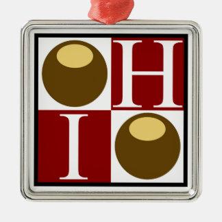 Het Ornament van Ohio van de Noot van Buckeye