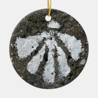 Het Ornament van Shell van de kammossel
