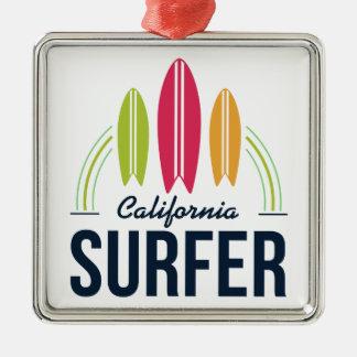 Het ornament van Surfer van de Plaats van de