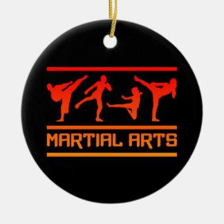 Het ornament van vechtsporten