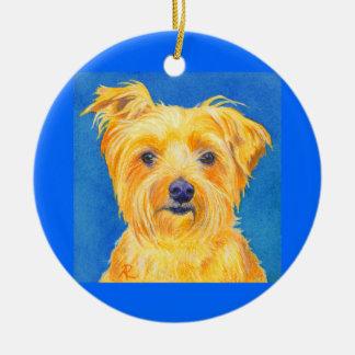 """Het Ornament van Yorkshire Terrier #2 - """"Sammy """""""