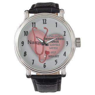 Het orthopedische Rode Hart van de Verpleegster Horloges