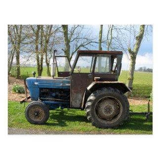 Het oude Briefkaart van de Tractor