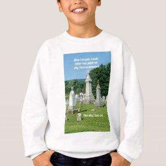 Het oude Citaat van het Leven van de Monumenten Trui