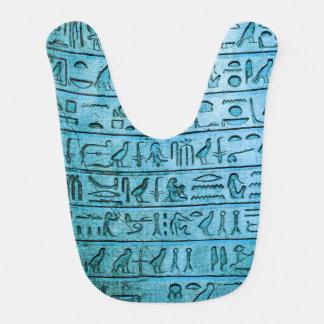 Het oude Egyptische Blauw van Hiërogliefen Slabbetje