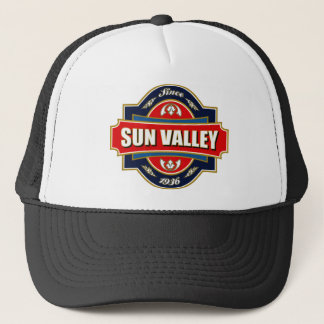 Het Oude Etiket van de Vallei van de zon Trucker Pet