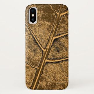 Het oude Fijne Art. van het Blad iPhone X Hoesje
