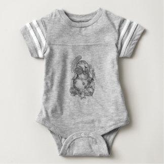 Het oude het Duiken van de School Tattoo van de Baby Bodysuit