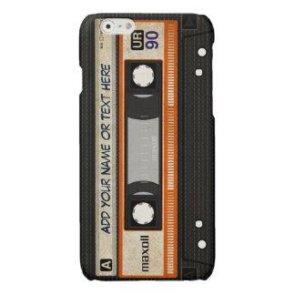 Het oude Patroon van de Band van de Cassette van iPhone 6 Hoesje Glanzend
