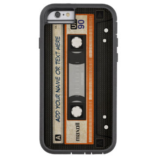 Het oude Patroon van de Band van de Cassette van Tough Xtreme iPhone 6 Hoesje
