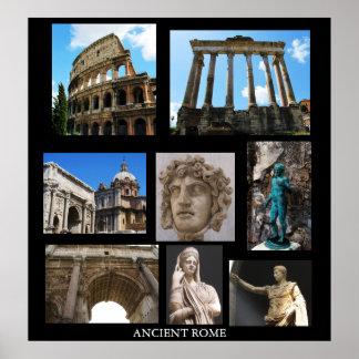 HET OUDE POSTER VAN ROME