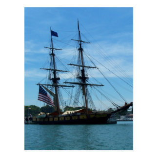 Het Oude Schip van Erie van het meer Briefkaart