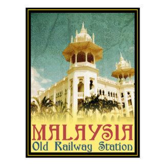 Het Oude Station van Maleisië Briefkaart