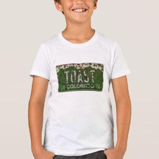 Het oude Vintage Overhemd van de Nummerplaat van T Shirt