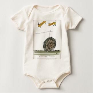 het oudste football van de wereld baby shirt