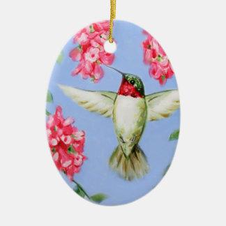 Het ovale Ornament van de Kolibrie
