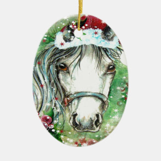 Het Ovale Ornament van het Paard van de vakantie