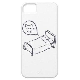 Het Overhemd en de Kleding van de Grap van het bed Barely There iPhone 5 Hoesje