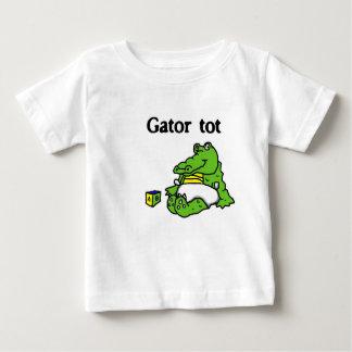 """""""Het overhemd Gator van het peuter"""" baby T-shirt"""