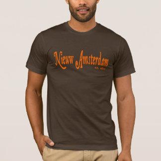 Het overhemd NYC van Nieuw van Amsterdam (Nieuw T Shirt