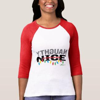 """Het Overhemd """"Onbelangrijk Nice"""" van Kerstmis van T Shirt"""
