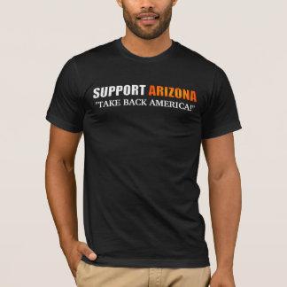 Het Overhemd van Arizona van de steun T Shirt