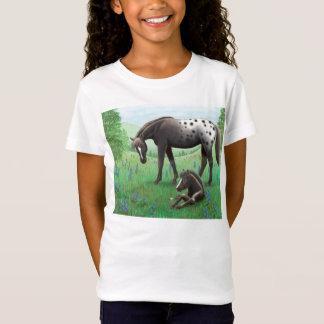 Het Overhemd van Babydoll van het Paard van T Shirt