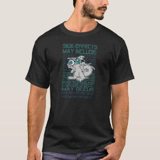 Het Overhemd van Bijwerkingen pilz-e (Opgeruimde T Shirt