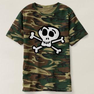 Het overhemd van Camo van het Bot van DEM T Shirts