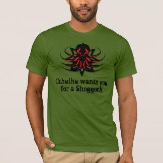 Het Overhemd van Cthulhu - Cthulhu wil u voor een T Shirt
