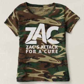Het Overhemd van de Aanval van Camo voor Vrouwen T Shirts