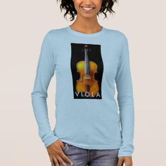 Het Overhemd van de altviool door Leslie die T Shirts