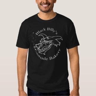 Het overhemd van de Bakkerij van zwarte Zwarte T-shirts