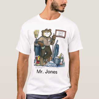 Het Overhemd van de beheerder T Shirt