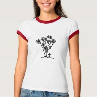 Het Overhemd van de Bel van vrouwen - Zwart & Wit T Shirt