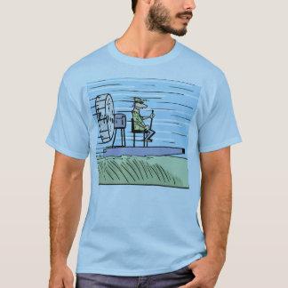 Het Overhemd van de Cartoon van de Boot van de T Shirt